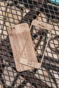 Wooden iPhone Skin