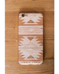 Laser-Etched iPhone Case / Wrap -- Navajo