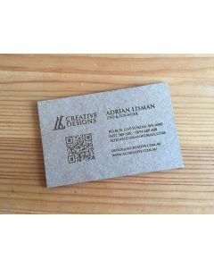 Cardboard Business Cards