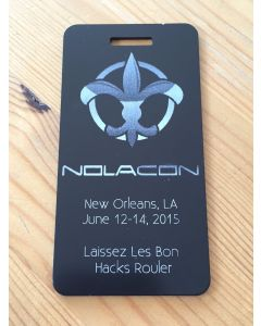 Laser-Etched Metal Tags