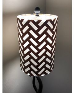 Laser-cut Lampshade - Dash Mesh Design