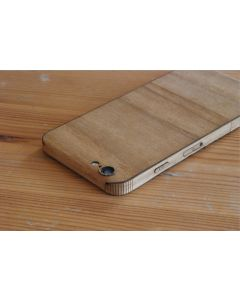 Wood iPhone Wrap - Sleek Style