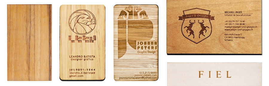 Wood Business Cards Laser Cut Business Cards Eq Products