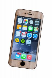 Wood iPhone Wrap - Classic Style