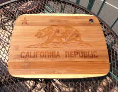 Laser-Etched Cutting Board