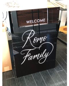 Acrylic Retail Sign