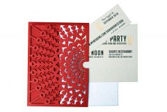 Laser-Cut Invitations - Folio Style