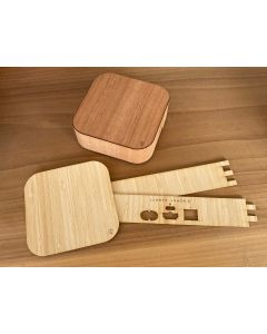 Wooden Apple TV Cover