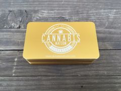 Gold Metal Business Cards (Aluminum)