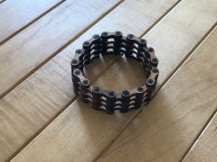 Chain - Laser-Cut Wood Bracelet