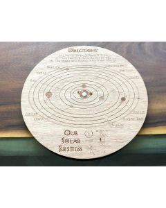Customized Wood Planisphere
