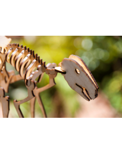 Laser-Cut Kangaroo Model