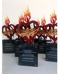 Custom Cut & Engraved Awards
