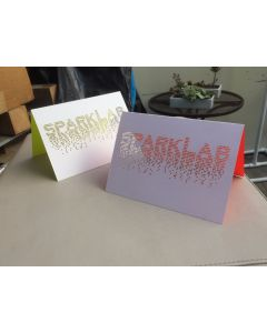 Folding Greeting Card