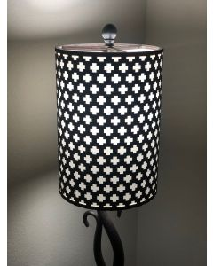 Laser-cut Lampshade - Plus / Cross Design