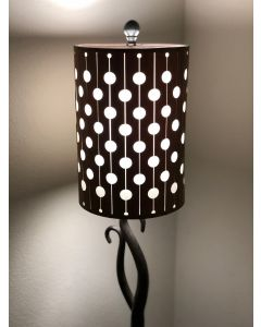 Laser-cut Lampshade - Circle Carousel